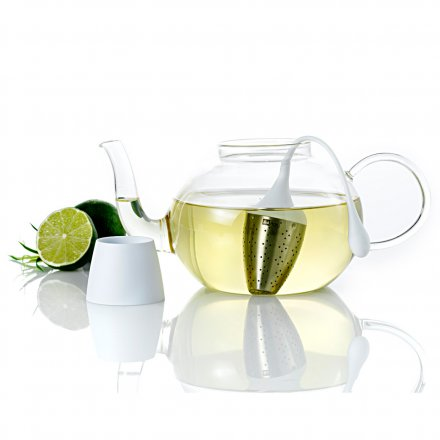 AdHoc Tea Egg Hangtea for Teapots white