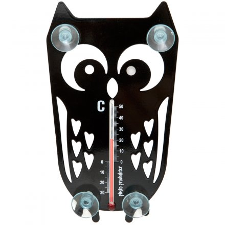 Pluto Thermometer Owl