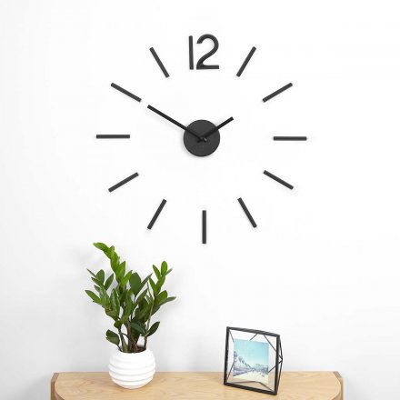 Wall Clock Blink black