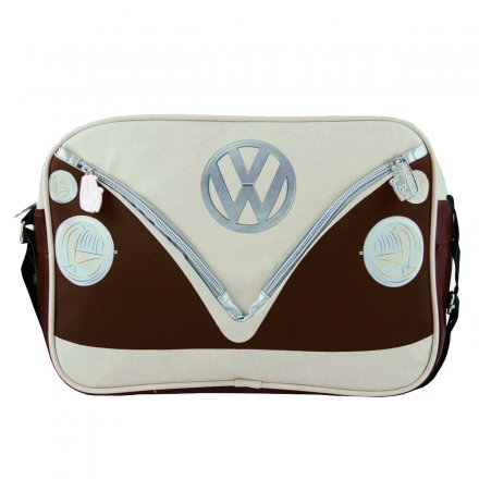 Shoulder Bag VW Bus brown/beige