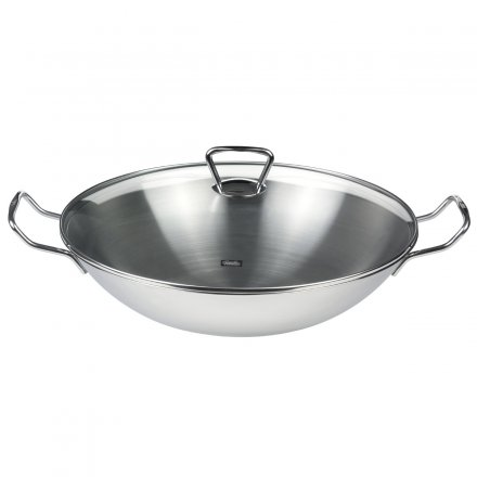 Fissler kunming Wok with Glass Lid