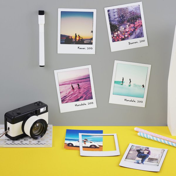 DOIY Photo Frames 6 pcs. Magnetic Polaframes