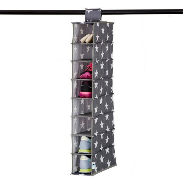 Store.It Shoe-Organizer Stars gray