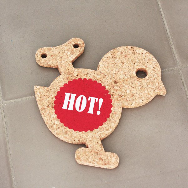 Sinnwert Cork Trivet Hot Set of 2