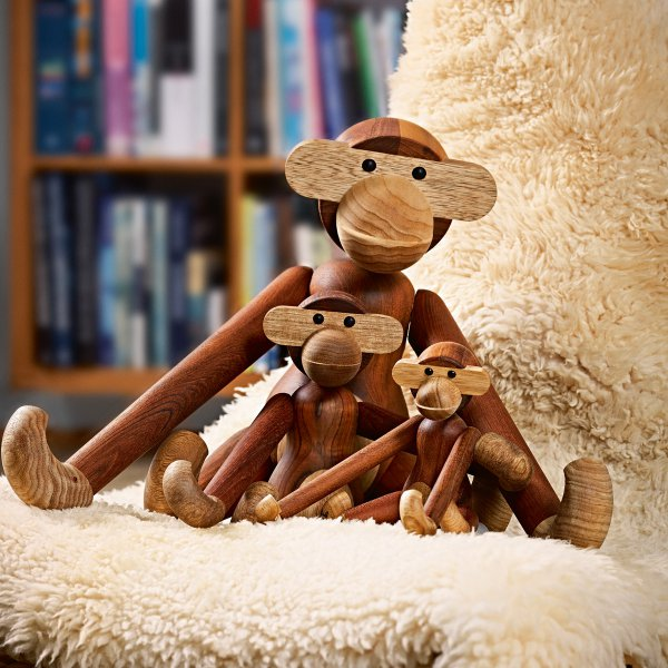 Kaj Bojesen Wooden Piece Monkey
