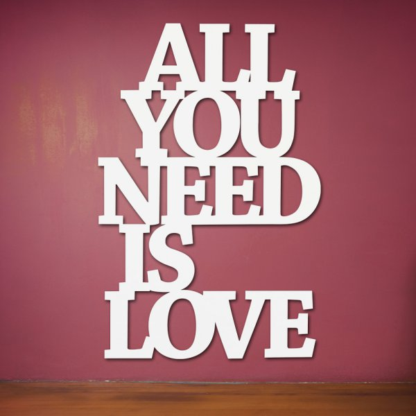 Westpaket Quotation All you need is love