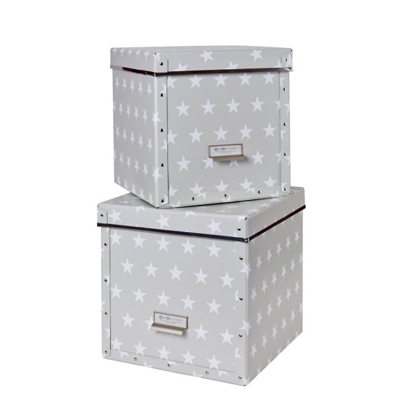 Store.It Storage Box Cube Stars Box 2-pc Set