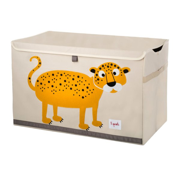 3 sprouts Storage Toy Chest Leopard