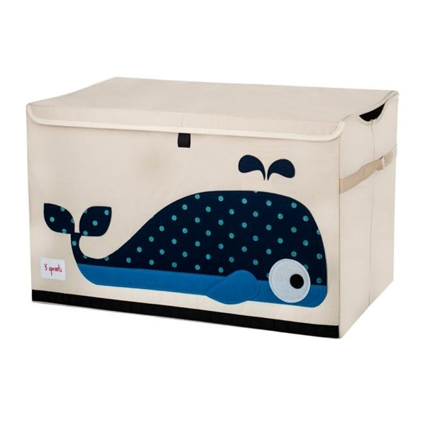 3 sprouts Storage Toy Chest Whale