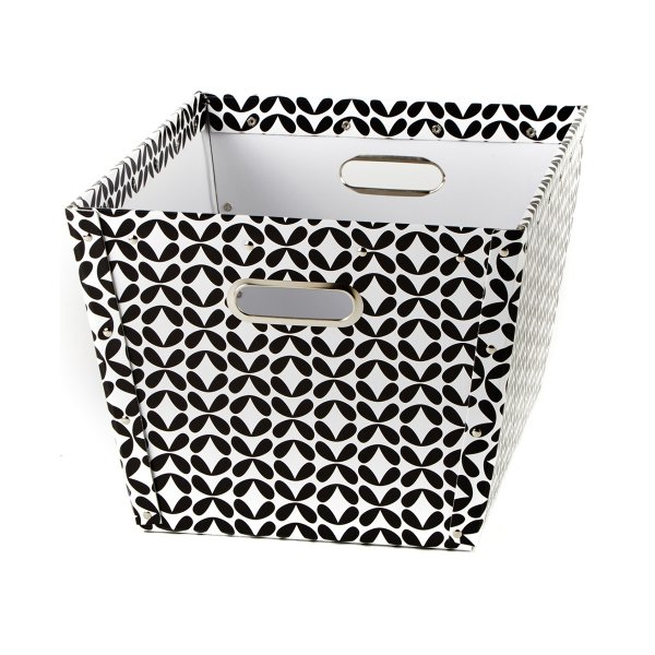 Store.It Storage Box Basket black-white