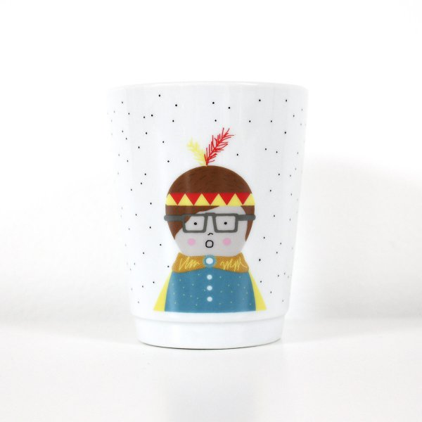 Ava&Yves Porcelain Cup Indian