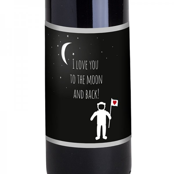 Bordeaux Love you to the moon