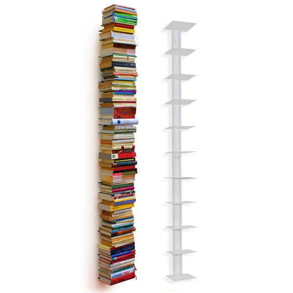Haseform Book Tower for 1.80m Books white