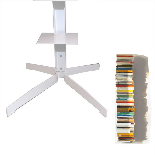Haseform Stand for the Book Tower white