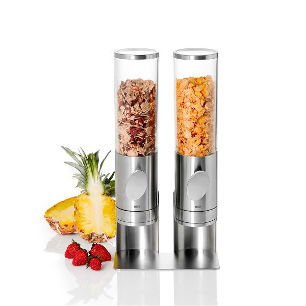 AdHoc Cereal Dispensers Deposito in a Stand - Set of 2