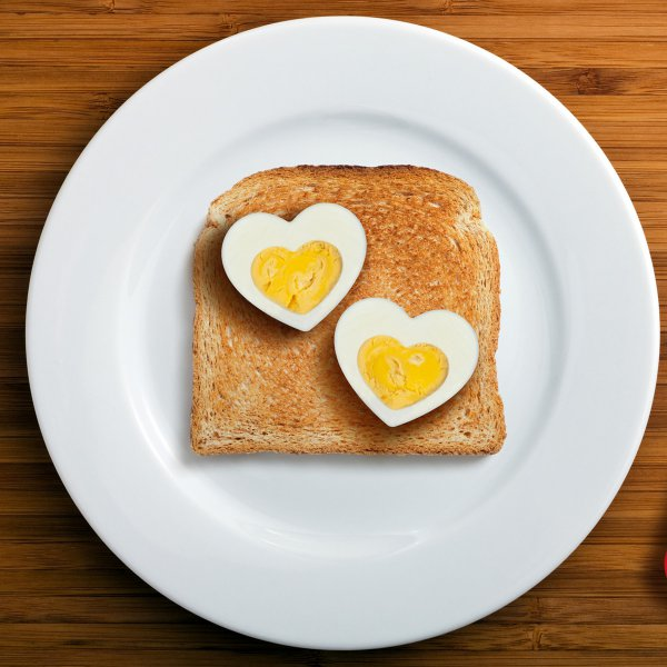 Egg Mold Heart