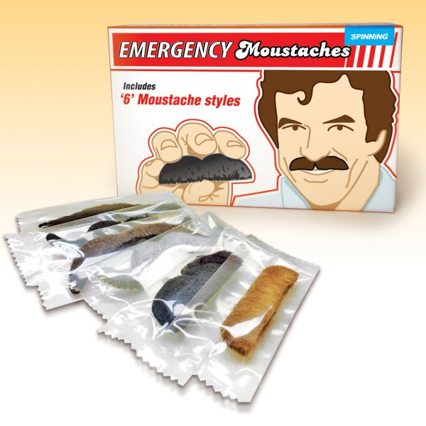 Emergency Moustache Set of 6