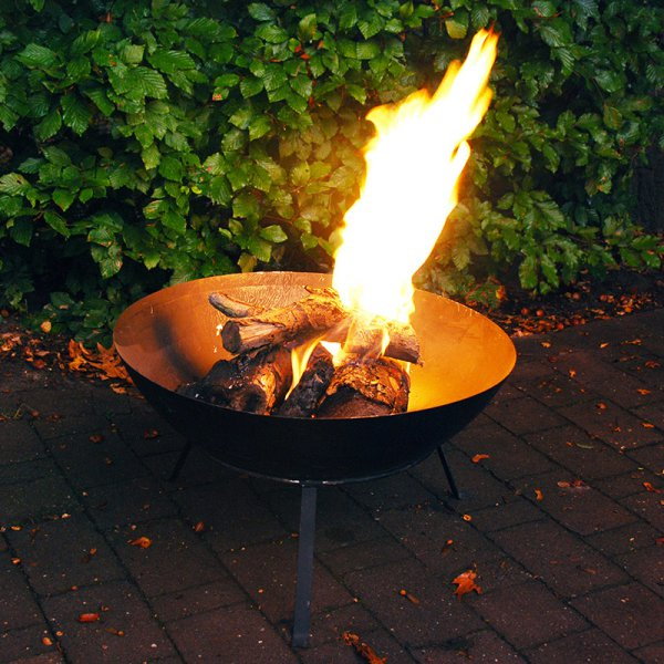 Fire Bowl on a Stand