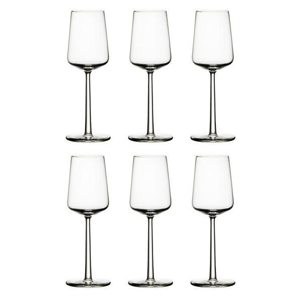 iittala Essence White Wine Glass 6 pcs.