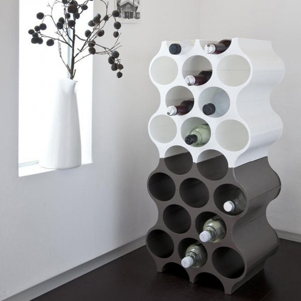 Koziol Bottle Rack Set-Up