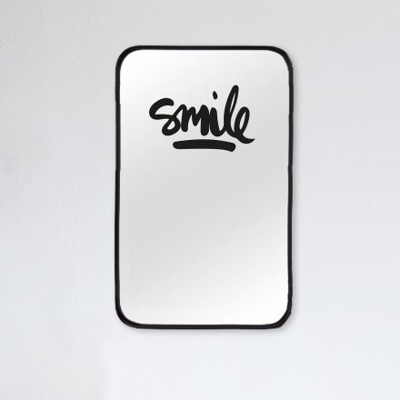 Formart Mirror Decal Smile