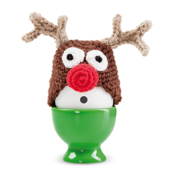 Donkey Products Egg Warmer Funky Eggs Red Nose Egg