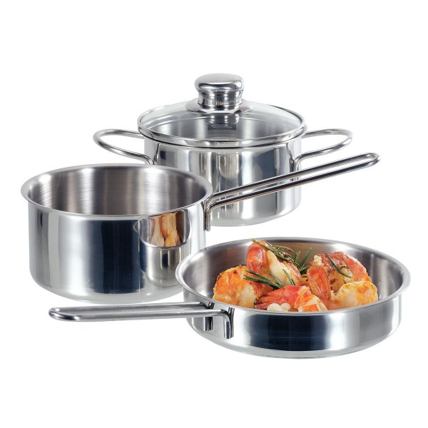 Fissler snack-set Mini Pot Set 3-piece