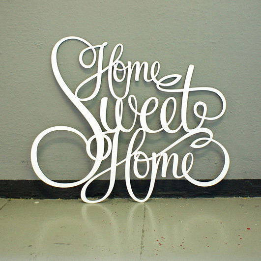 Westpaket Quotation Home Sweet Home