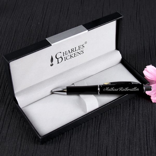 Personalized Charles Dickens Ballpoint Gift Set