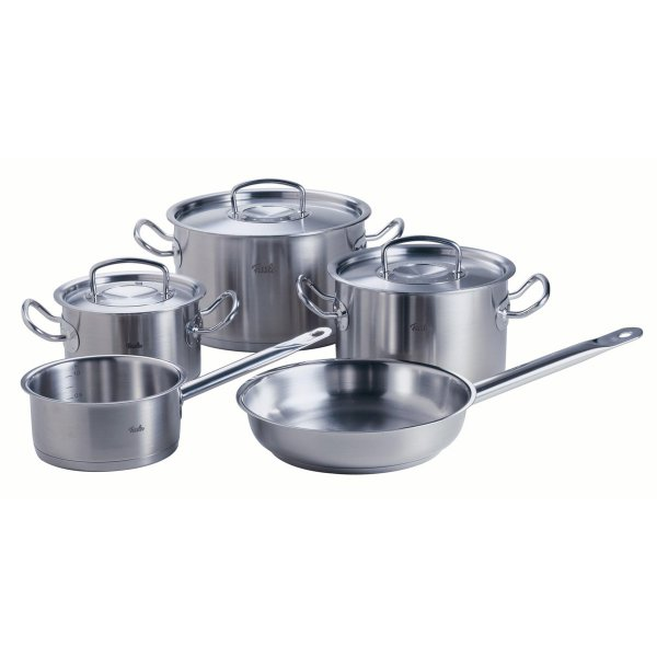 Fissler original pro collection 5-piece Set with Pan