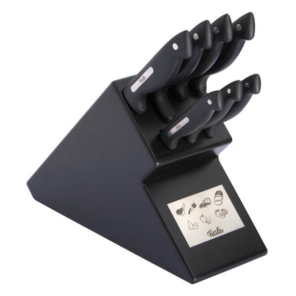 Fissler signum Knife Block 7-piece black