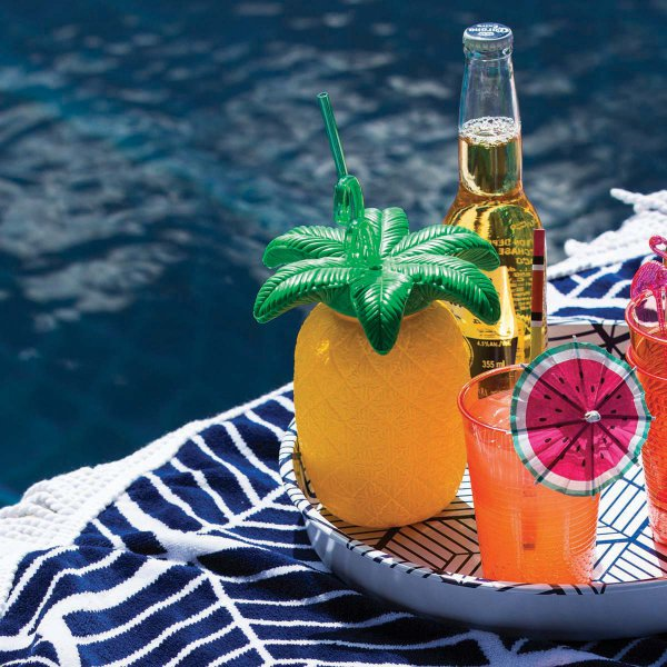 Sunny Life Cup & Straw Pineapple