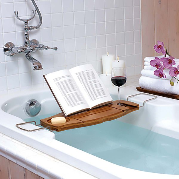 Extendable Bathtub Caddy Aquala