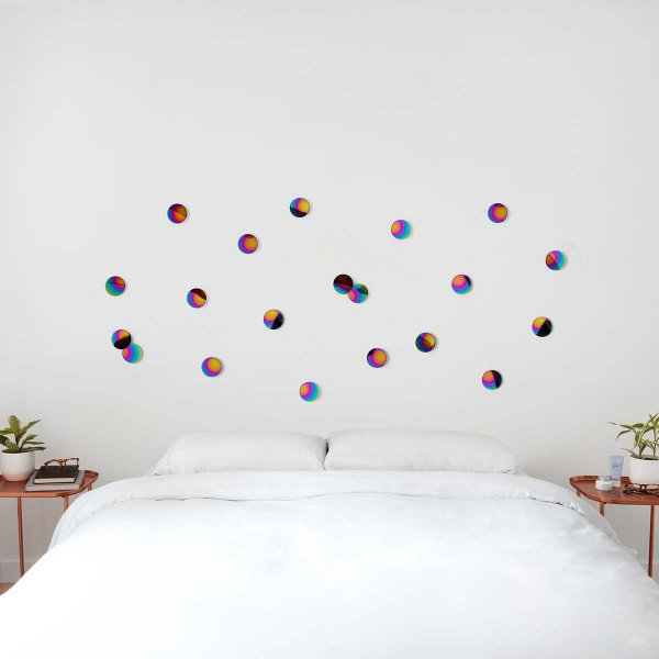 Umbra Wall Decoration Confetti Dots Rainbow