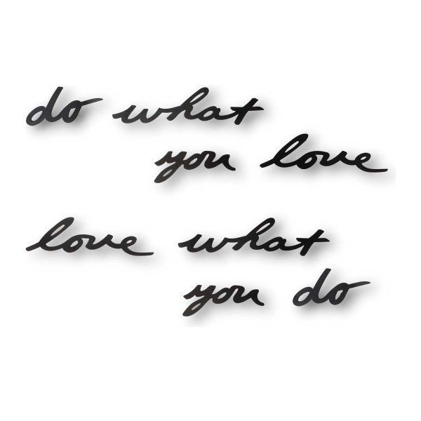 Wall Decoration Mantra do what you love