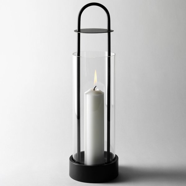 Design House Stockholm Hurricane Lantern Lotus large