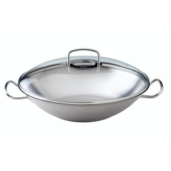 Fissler original pro collection Wok with glass lid 35cm