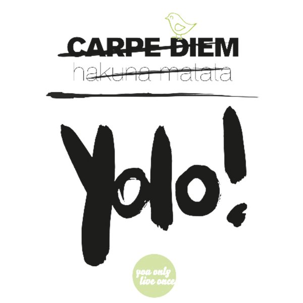 Formart Statement-Poster Yolo! Din A4
