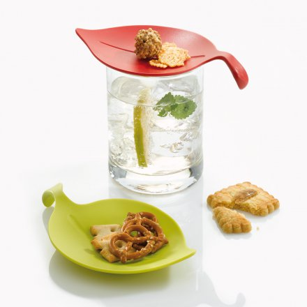 Koziol Drink Guard Leaf-On 4 pcs.
