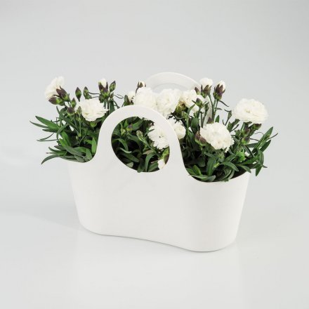 Scheurich Plantbag Pure White