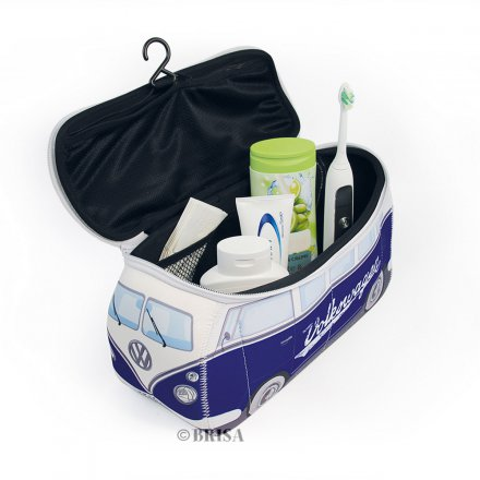 Universal Bag VW Bus 3D Neoprene blue/lettering