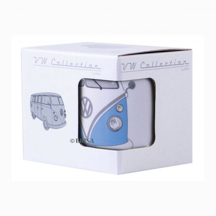 Coffee Mug VW Bus blue