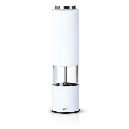 AdHoc Electric Pepper or Salt Mill Tropica white