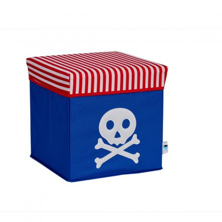 Store.It Storage Box & Seat Pirate blue/red