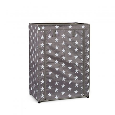 Store.It Textile-Shoe Cabinet Stars gray small