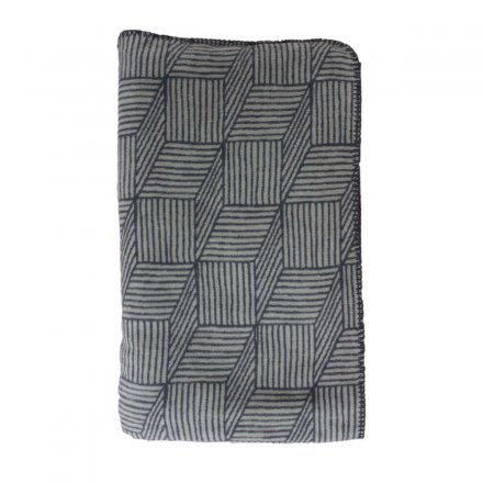 Ava&Yves Cotton Blanket Fun Stripes 140x200 cm anthracite