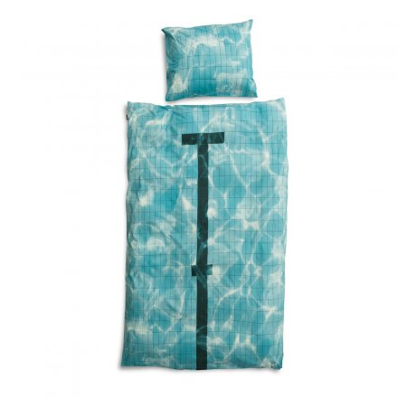 Snurk Duvet Bedding Set Pool