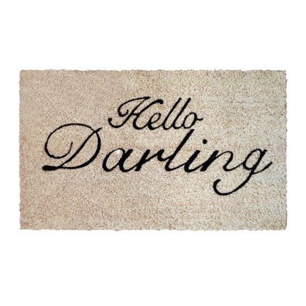 Bombay Duck Doormat Hello Darling