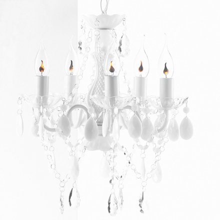roomproducts Chandelier Arte S white
