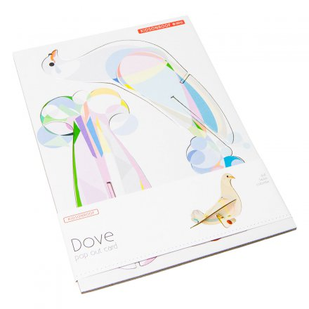 studio ROOF Pop Out Card Dove
